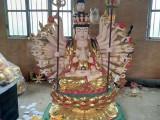 大型千手观音菩萨厂家直销 玻璃钢佛像雕塑 准提观音菩萨像