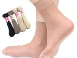 厂家直销 夏季防勾丝包芯丝短丝袜 女 地摊袜子特价促销 天猫货源