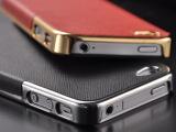 手机壳 iphone手机壳 手机壳批发 十字纹 电镀贴皮 手机保