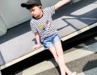 童装条纹短袖