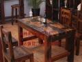丽水市老船木家具茶桌办公桌餐桌椅子实木沙发茶几茶台鱼缸博古架