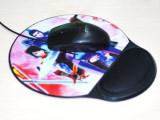 鼠标垫 硅胶光电护腕鼠标垫 ABS硅胶护腕垫 电脑配件批 厂家