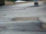 鱼窝头厂房屋面防水补强工程 东涌镇厂房锌铁瓦面防锈补漏工程