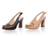 2014春鞋时尚新款漆皮糖果色欧美职业热销爆款粗跟凉鞋子休闲女鞋