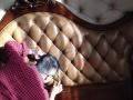专业维修沙发翻新 皮沙发换皮 定做沙发套 换海绵