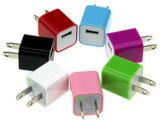 3代充电器苹果绿点充头iphone4/5S、彩色\500毫安半波