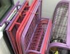 三个狗笼子打包转让 送一个小笼子