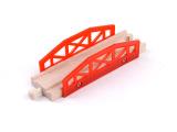 托马斯轨道火车木制玩具 车轨道百变轨道磁性木制轨道配件