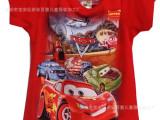 儿童短袖T恤男孩T恤迪斯尼男孩T恤2014汽车总动员男孩T恤