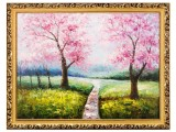 春暖人间油画珍藏 赠韩秀仪八平尺书法
