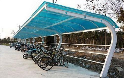花都区鸿运搭建工程队简易棚单车棚备料棚搭建