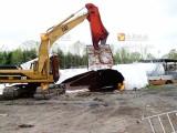 剪切处理废钢筋必备工具--挖掘机液压鹰嘴剪