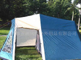 外单户外野营露营帐篷 深圳厂家超大空间户外装备