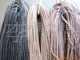 供应咖啡色蜡绳、棕色蜡绳、蜡线、蜡扁绳、蜡吊牌线