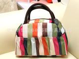 韩版品牌女包 夏款印花民族风便当包 化妆包女士时尚手提包