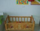 纯实木的婴儿床2张