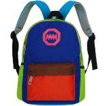 木村新款韩版亲子包 撞色小背包 小学生书包旅行休闲双肩包