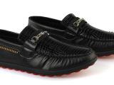 厂家直销 鳄鱼纹路休闲男鞋 春 豆豆鞋单鞋 商务男鞋温州男鞋