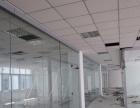 专业门禁安装维修,玻璃隔断 玻璃门维修地弹簧安装