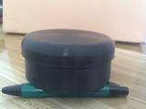 4寸钢管焊接管封头封塞橡胶盖管内塞胶塞