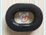 吸塑成型 填充液体硅胶皮套 胶件上直接电压隔音皮耳套