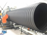 建华塑胶创新科技hdpe钢带增强螺旋波纹