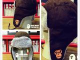 特 14年最新 NONOMAMI 儿童 冬款 珊瑚绒帽子 雷锋帽