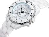 品牌手表专柜正品陶瓷手表女表时尚潮流手表石英表防水女士手链表