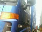 欧曼前四后八货车9.6米高栏仓栏平板二手货车转让
