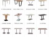 江门食堂餐桌椅快餐店桌椅中餐厅桌椅奶茶店桌椅卡座沙发桌椅组合