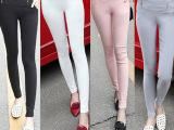 2015新款外穿修身打底裤韩版显瘦长裤小脚铅笔裤