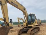 直销兰州二手挖掘机,原装小松130-7和200,240-8等