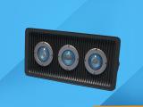 厂家供应150W三头透镜投光灯外壳LED灯具配件LED户外投光灯