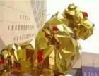 视觉盛宴金刚黄金狮巡游机械大象展示低价出租