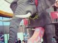 机械大象出租,冰雕展制作出租,地板钢琴出租出售