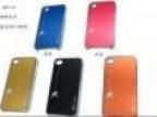 厂家直销 iphone4 4S金属壳+pc片 超薄塑料电镀手机壳蜘蛛外壳K04