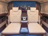 西安匠艺工坊奔驰v260豪华升级内饰改装案例,演绎唯美