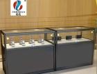 精品柜台汽车用品展示柜玻璃钛合金展柜烟酒精品柜
