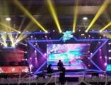 舞台灯效和现场效果满足客户对布置舞台灯光的需要