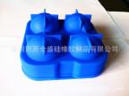 现模工厂供应 热销硅胶冰球 4孔组合冰球模 硅胶螺旋桨冰格