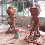 广州植物大战僵尸雕塑广东雕塑厂