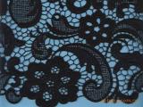【品质保证】供应100%棉服装绣花面料 绣花图案服装布