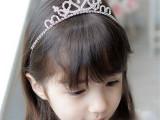 儿童发饰 皇冠头饰儿童皇冠发箍头箍舞蹈表演 现货供应