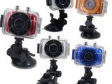 720P户外运动摄像相机 微型迷你相机 触屏户外 防水潜水运动相
