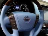 宝鸡汽车改装-途乐内饰改装蓝色,领导驾乘更舒适