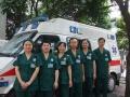 成都市私人救护车出租专业送病人出院回家转院转诊服务中心
