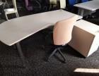 枫木色经理桌,直条式,不带侧桌 1.85 85