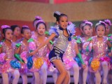 新款特价儿童演出服男女童亮片街舞爵士舞蹈服装少儿现代舞表演服