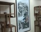 长沙字画装裱配画框实木装裱书画国画 老店 价格实惠
