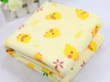 出口日本原单西松屋 黄色小鸭隔尿垫 (50*40)